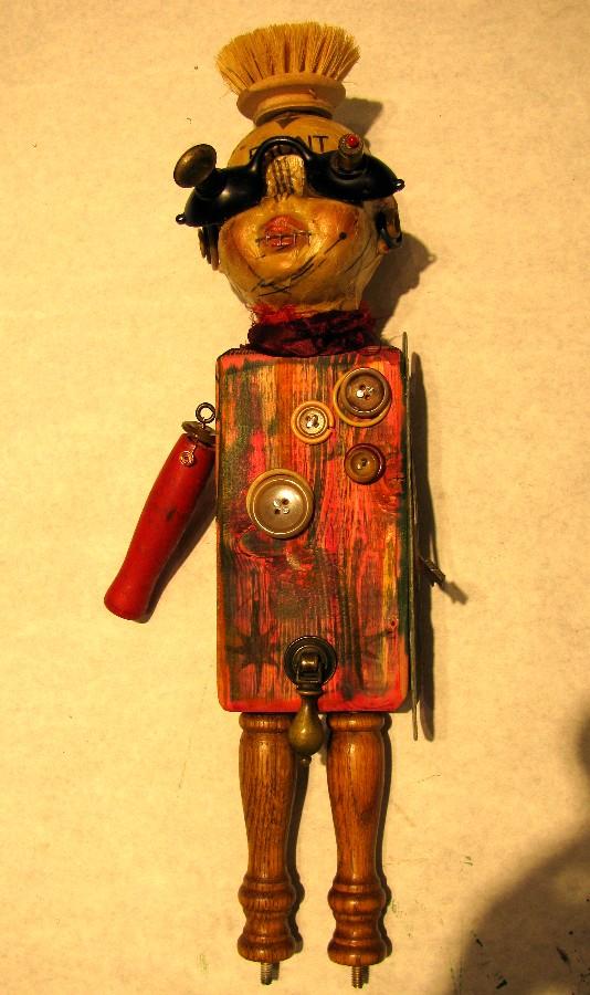 Linda & Opie's Burnt Offerings: dolls and dada