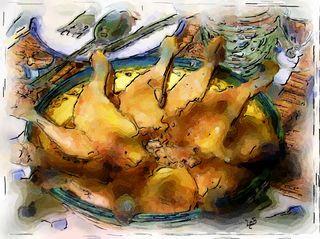 Blog_ fr-blue foot chicken sketch