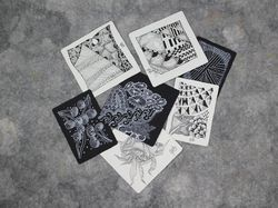 Zentangle assortment_ours