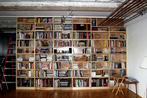 Bookcase in transition